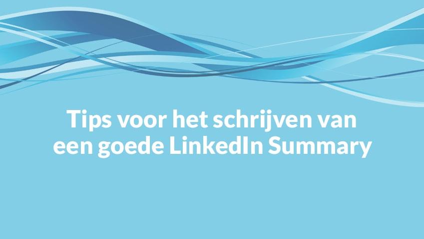 tips linkedin summary